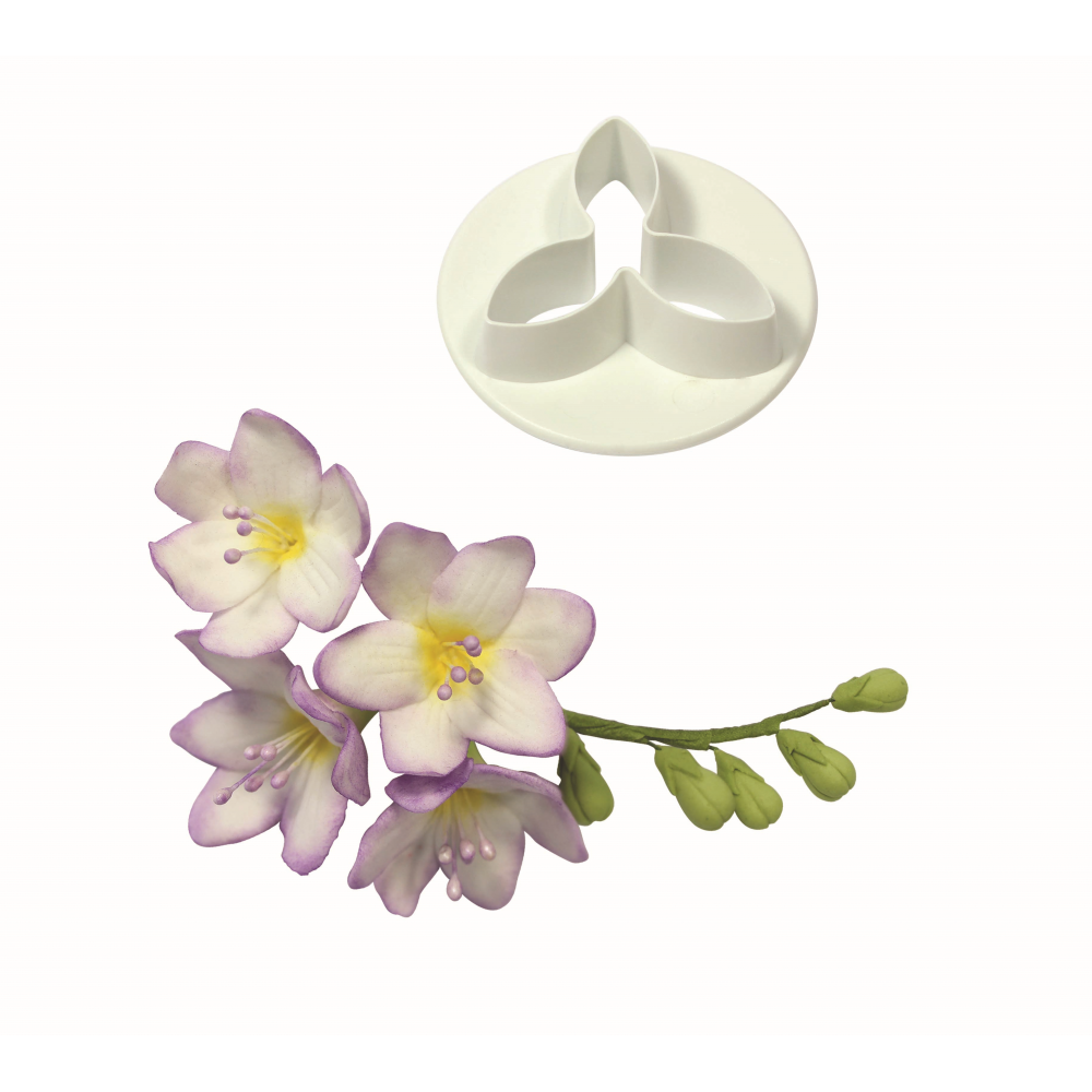 Fondant Cutter Snowdrop Fondant Google Search Sugar Paste Flowers Polymer Flowers Freesia Flowers