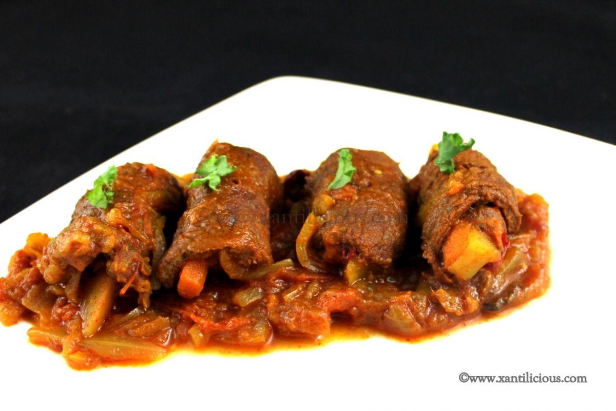 Beef Rolad Goan Beef Rolls Recipe Goan Recipes Beef Roulade Beef Roll