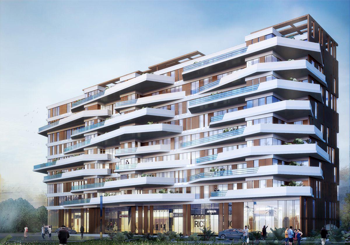 Sheraton Residential Building on Behance