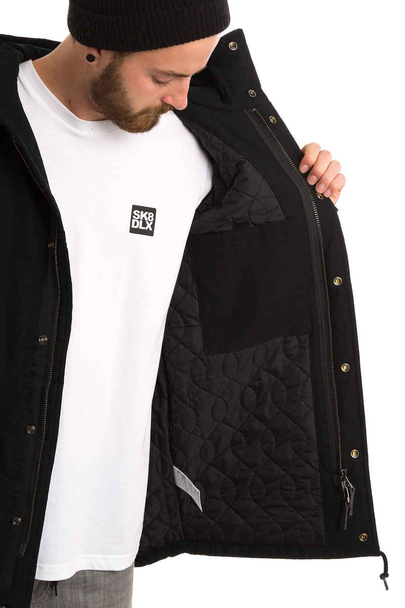 size 40 f02c9 cb84c Carhartt WIP Clash Parka Jacket (black) | Stylistic ...