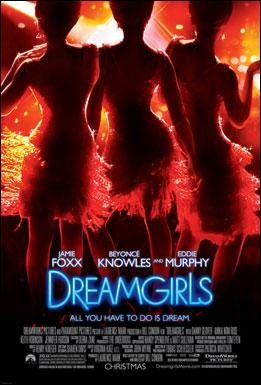 Dreamgirls is about a group of three women who pursue their dreams of becoming a famous singing group.