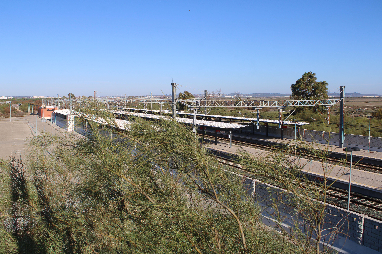estacion de ferrocarril de las aletas