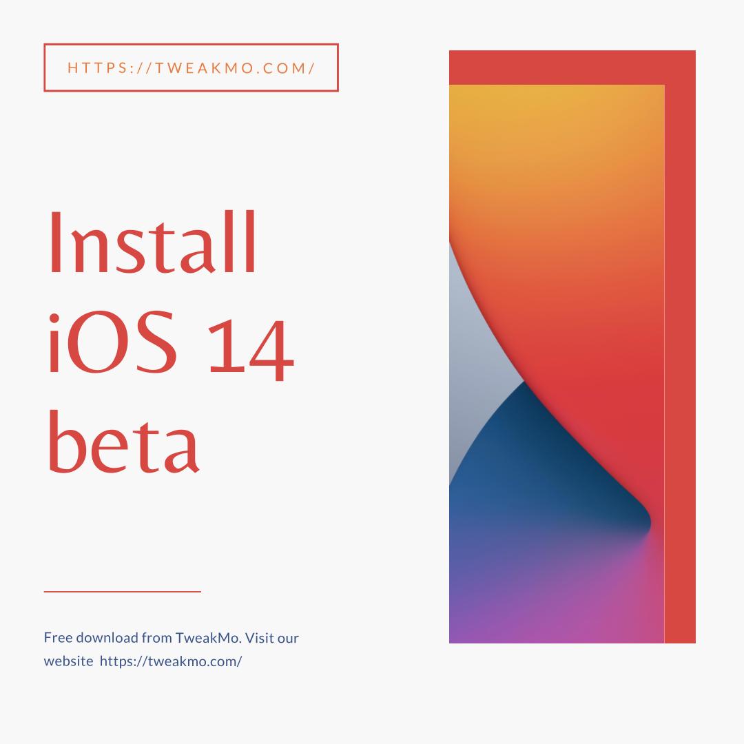 Install iOS 14 beta in 2020 App, Ios, Iphone