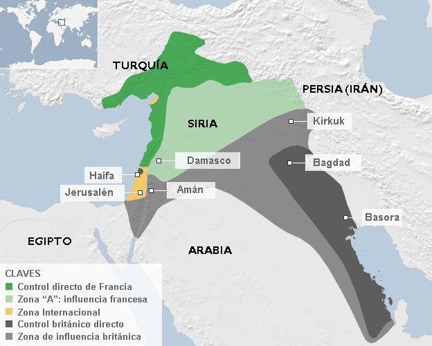 un siglo del sykes picot el acuerdo que cre a siria e irak y desencaden cien aos de resentimientos