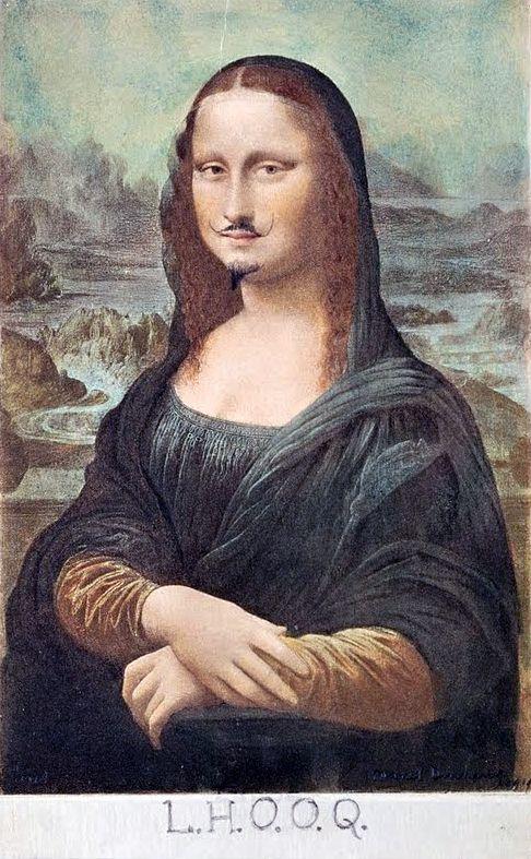 L.H.O.O.Q.    Marcel Duchamp    c. 1919