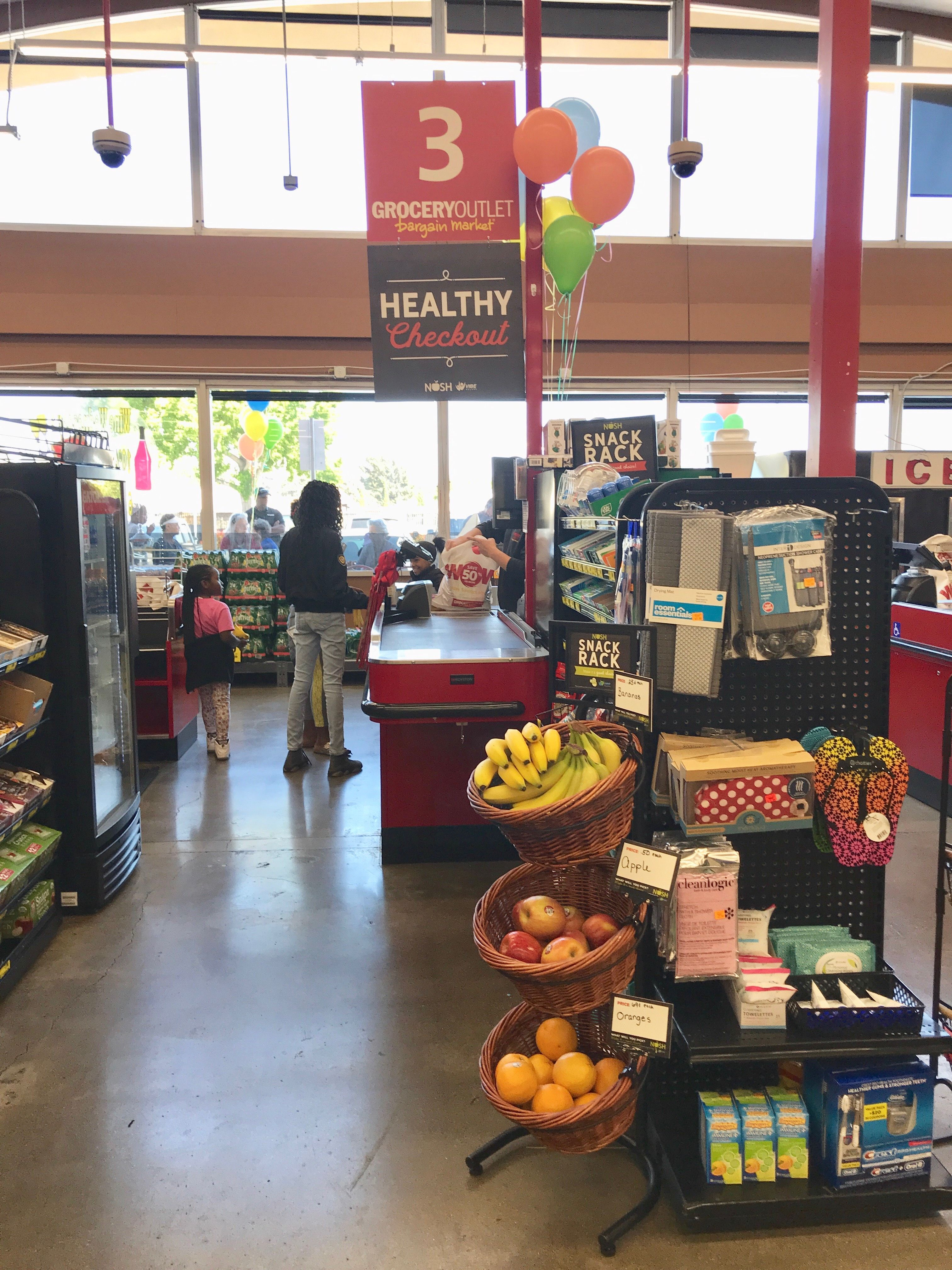 Check out the latest healthy checkout aisle! A Grocery Outlet in Solano  County 30545cd605e