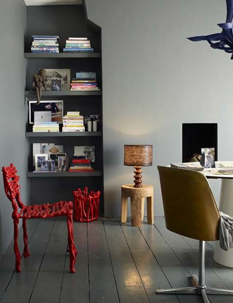 British Houses Can T Have A Home Without Books Red