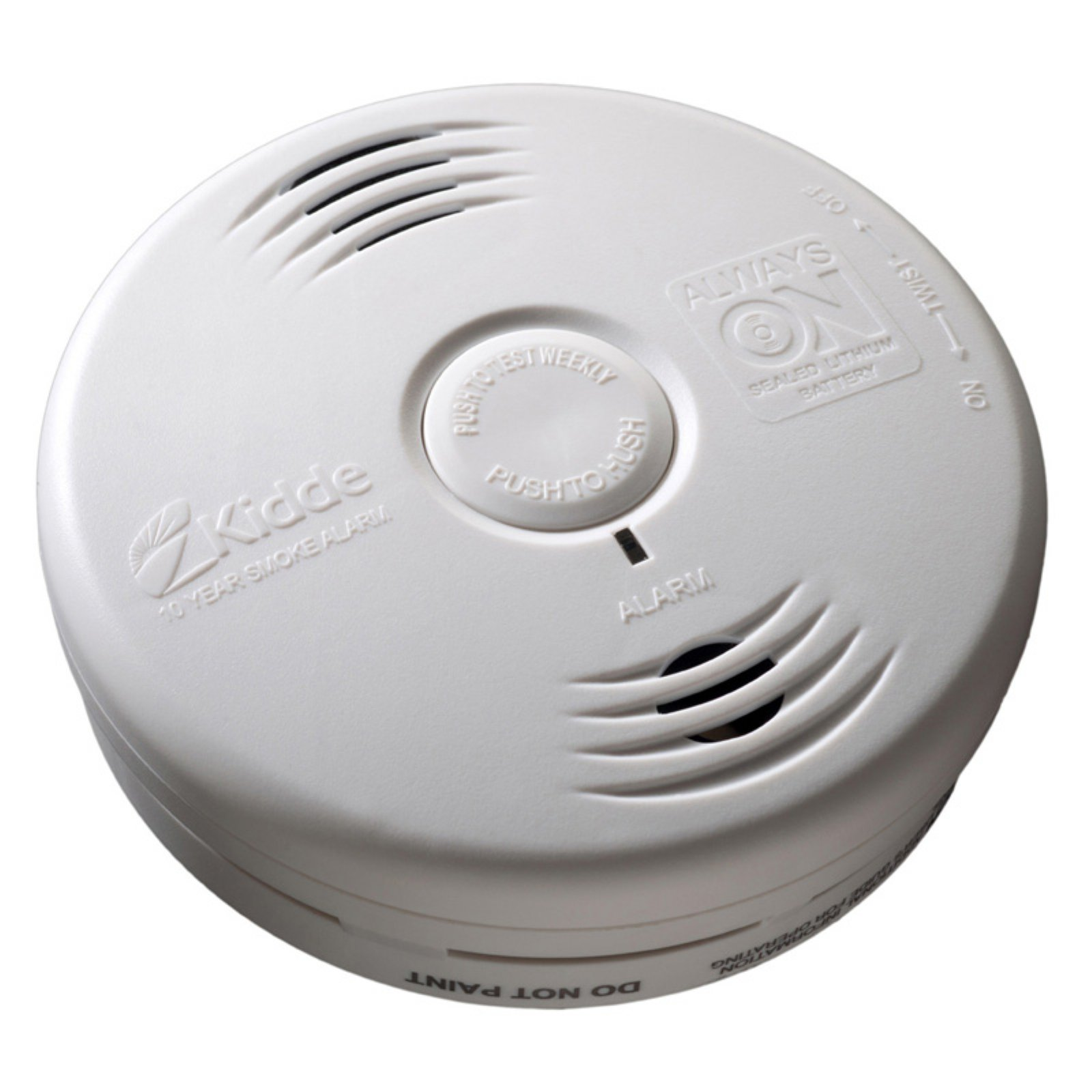 Kidde 10 Year Bedroom Smoke Alarm Smoke Alarms Smoke Alarm