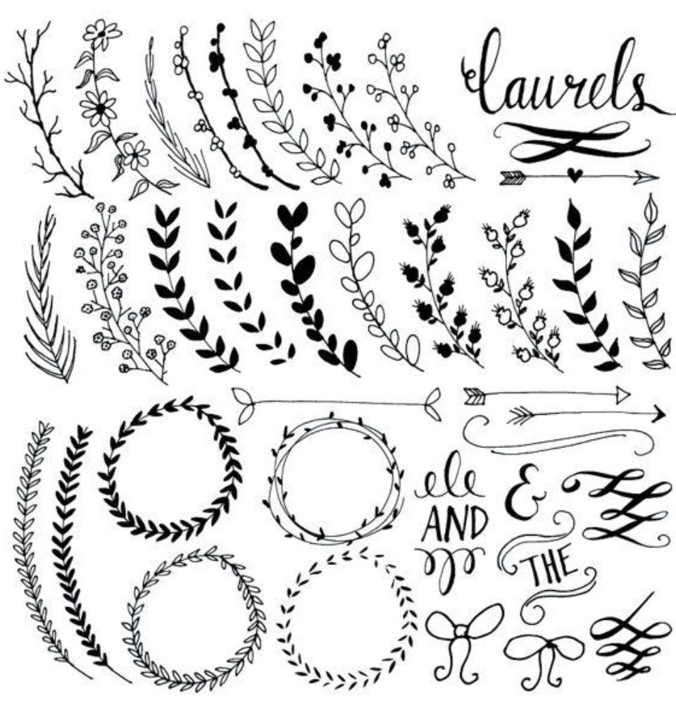 Embellishments fonts numbers and