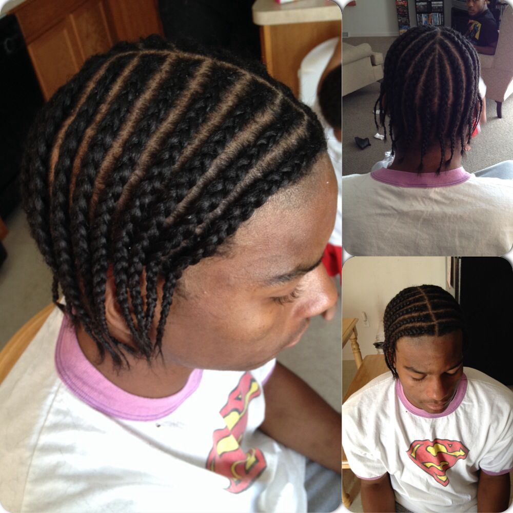 gangsta braids #donebyme #hair