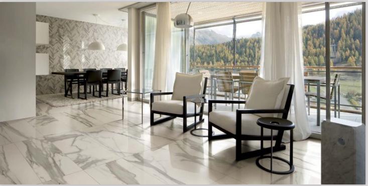 Happy Floors Italia Natural Matte and Polished Porcelain Tile - Made ...