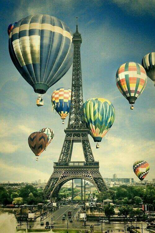 Pin by Michaela Anna Rygalski on PARIS ♥   Pinterest   Hot air ...