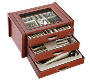 Photo of NEHİR cutlery set FİESTA plain with 89 pieces of luxury …-…