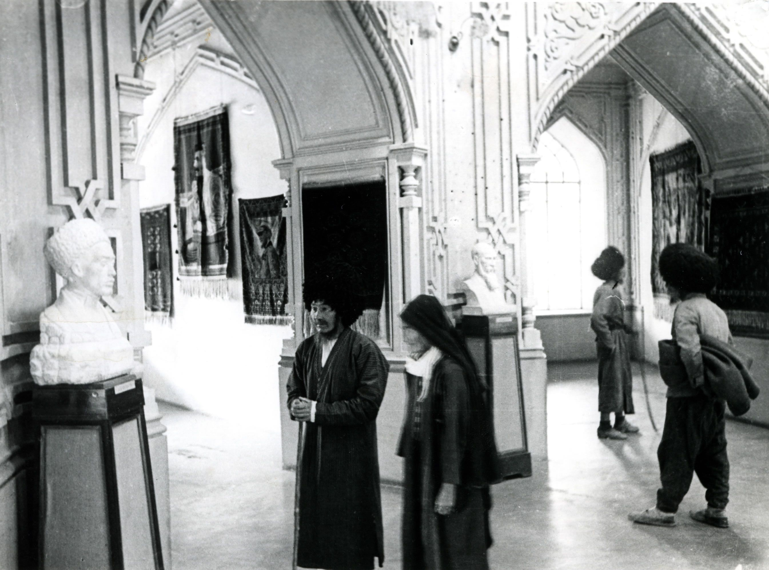 The House of Worship as an art museum.