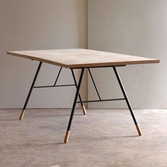 Suggested Steel Table Legs Sf Coastal Apartment Table