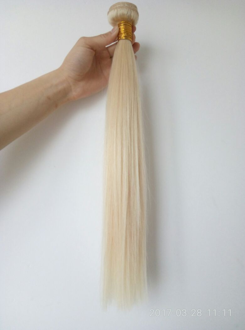 Extenshair polarblond haircolor new hairextensions