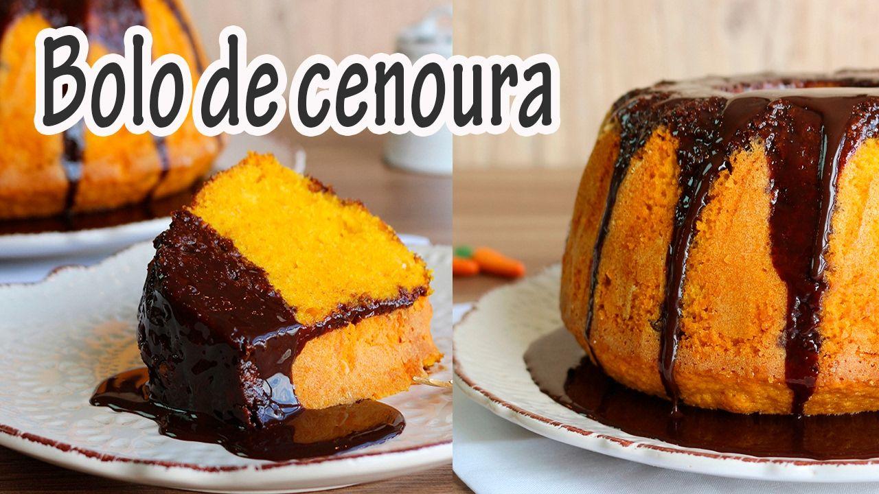 Bolo De Cenoura Fofinho Iingredientes 3 Cenouras 480g 4 Ovos 1