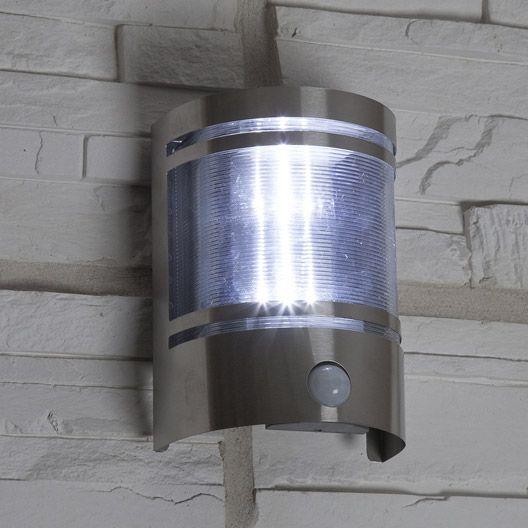 Applique A Detection Solaire Djerba Inspire 36 Lumens Inox
