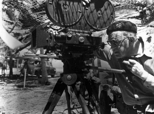 Director John Ford On The Set Of They Were Expendable 1945