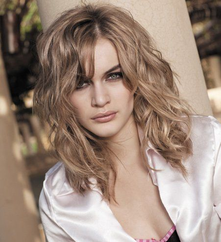 Modele coiffure degrade ondule