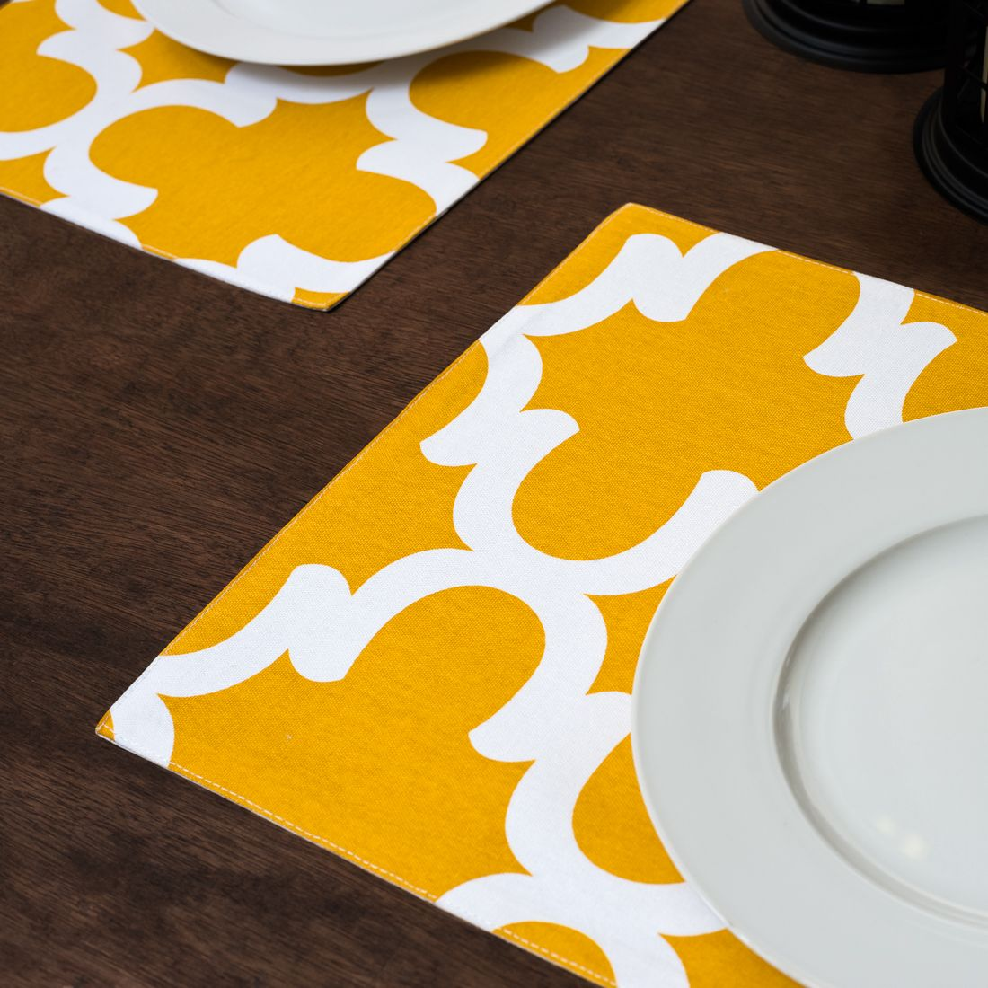 Mustard Yellow & White Trellis Placemats 4/pack | gift ideas ... on kitchen kitchen, kitchen vases, kitchen glassware, kitchen mirrors, kitchen trays, kitchen tablecloths, kitchen silverware, kitchen glasses, kitchen clothing, kitchen stationery, kitchen food, kitchen cushions, kitchen utensils, kitchen crafts, kitchen photography, kitchen napkins, kitchen pitchers, kitchen pillows, kitchen boxes, kitchen cutting boards,