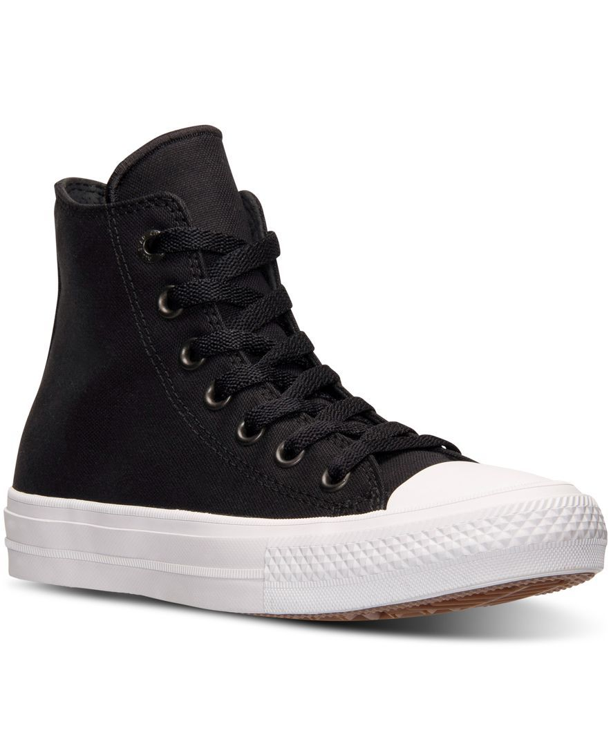 bef827aedd6 Converse Women s Chuck Taylor All Star Ii Hi Casual Sneakers from Finish  Line
