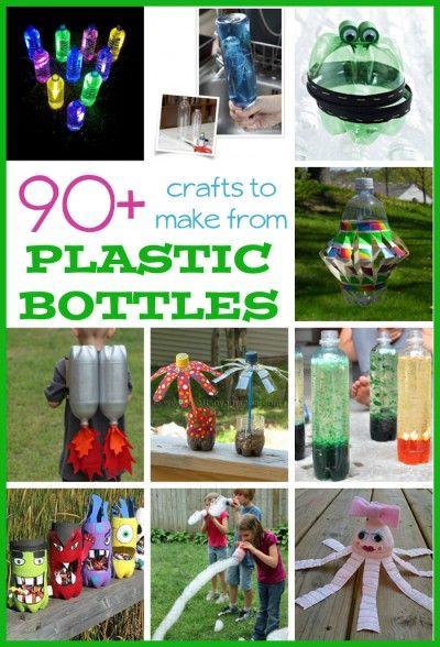 90 Plastic Bottle Crafts For Kids Pre School Plastic Bottle