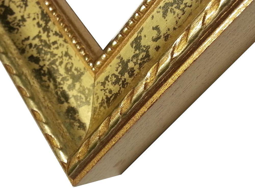 100 Ft Gold Picture Frame Moulding Wood Gold Leaf Scoop 1 Gold Molding Nickellmolding Gold Picture Frames Picture Frame Molding Picture Frames