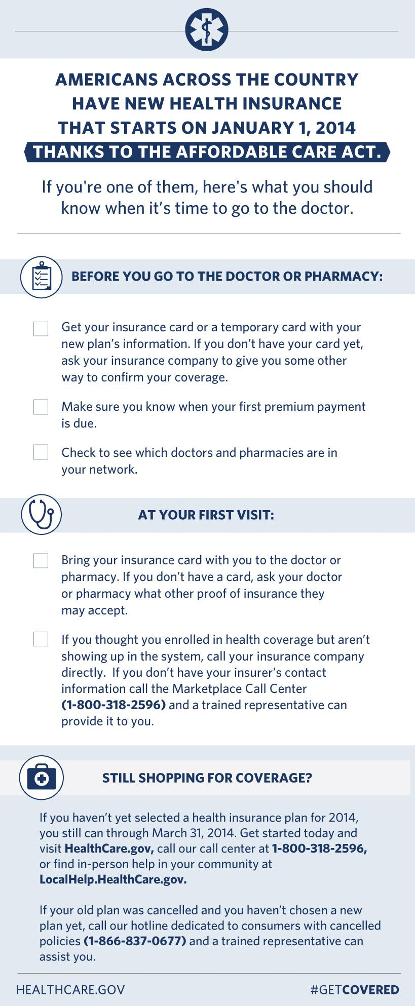 Tip Sheet For Employees Newly Covered Under Marketplace Health