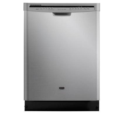 Jetclean Plus Front Control Dishwasher In Monochromatic Stainless