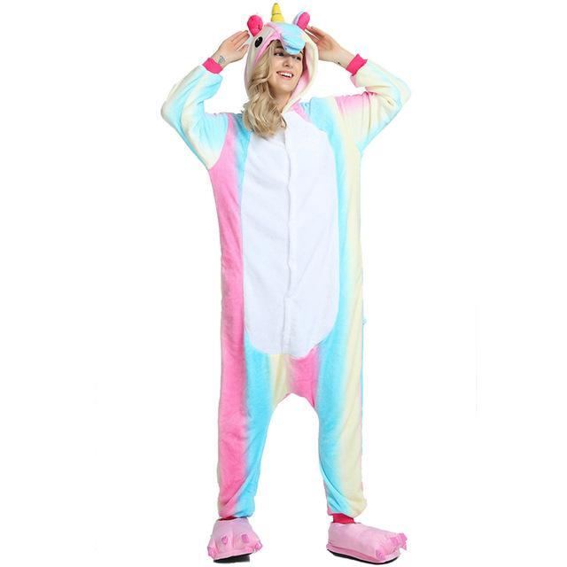 b0a73406810f 2018 Halloween Adult Anime Pajamas Sets Cartoon Sleepwear Women ...