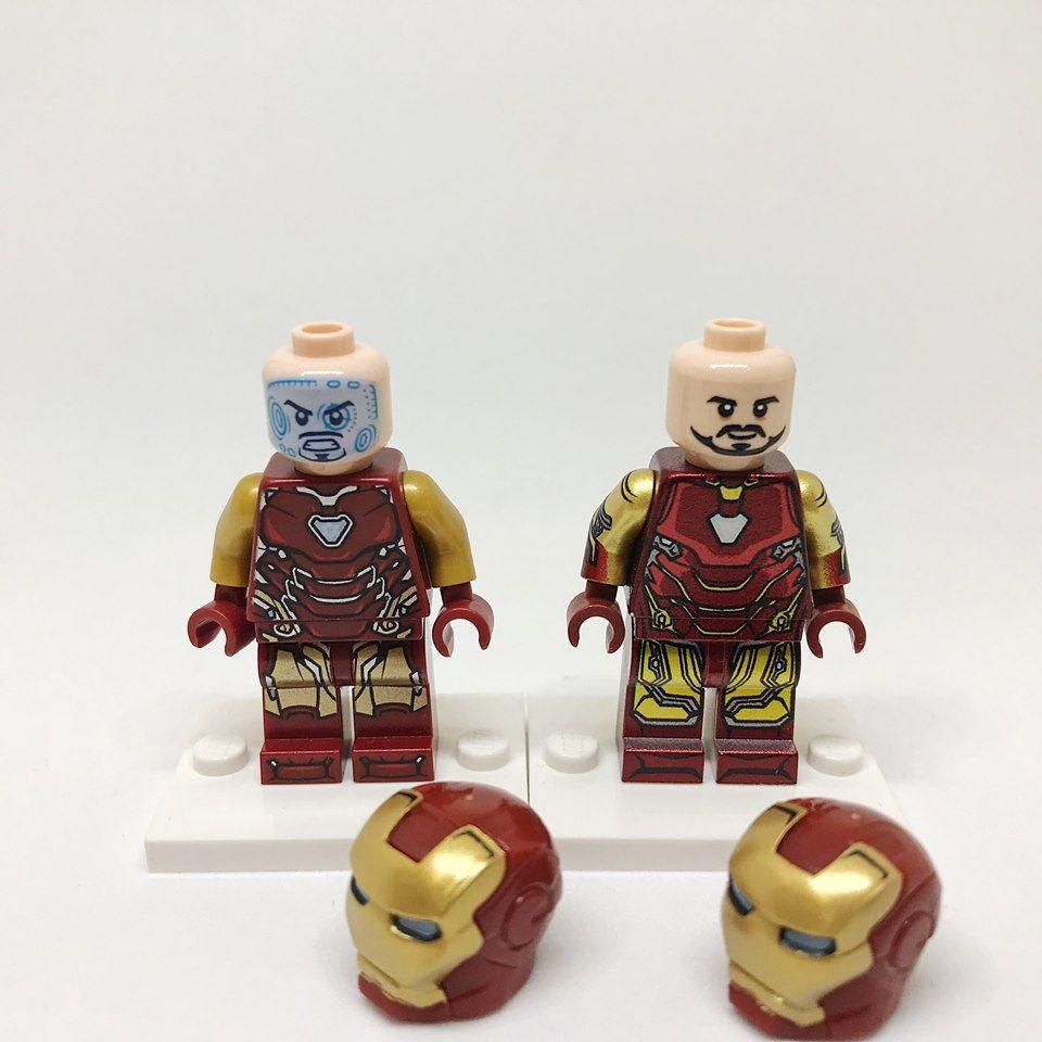 ⎡LEYILE BRICK⎦Custom Iron Man Tony Stark Mark 2 Lego Minifigure