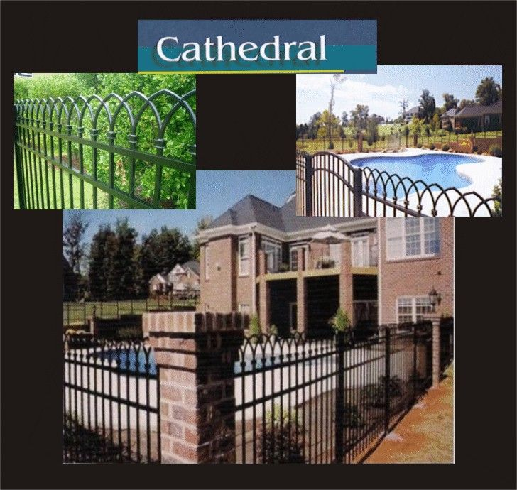 Cathedral Fence Styles & Pricing For Aluminum Fences