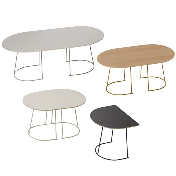 Airy Coffee Tables By Muuto