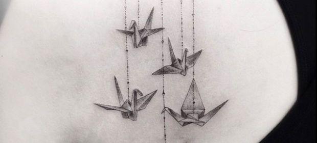 geometric star tattoo - Cerca con Google