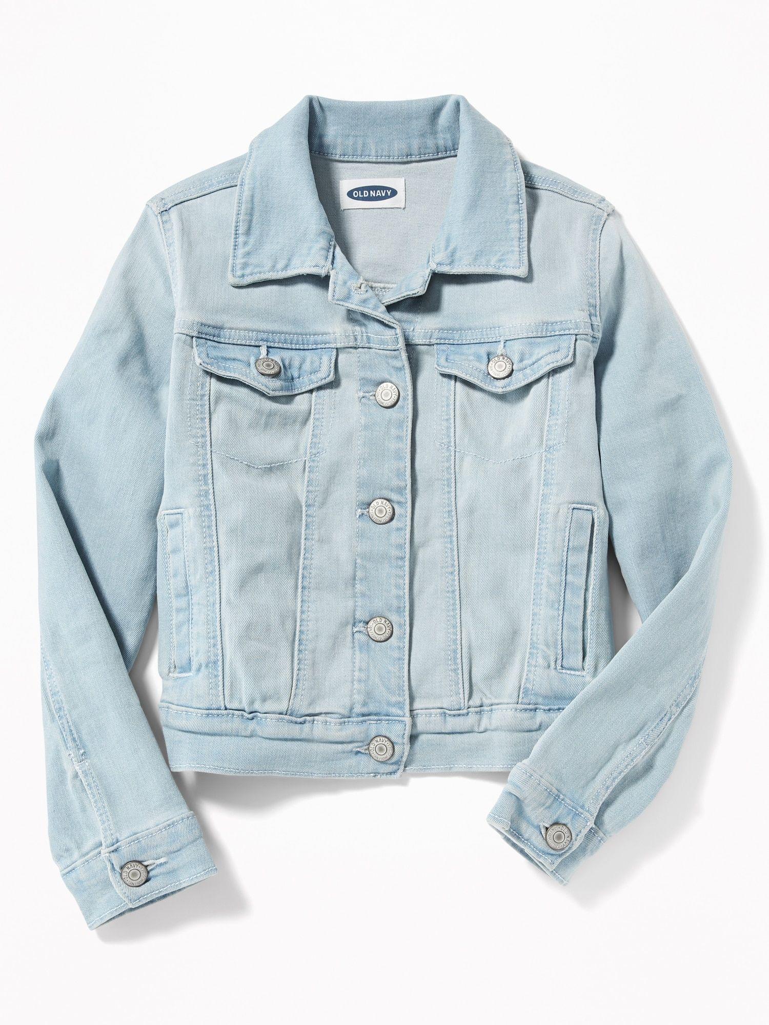 Light Wash Denim Jacket For Girls Old Navy Light Wash Jean Jacket Jean Jacket For Girls Light Wash Denim Jacket [ 2000 x 1500 Pixel ]