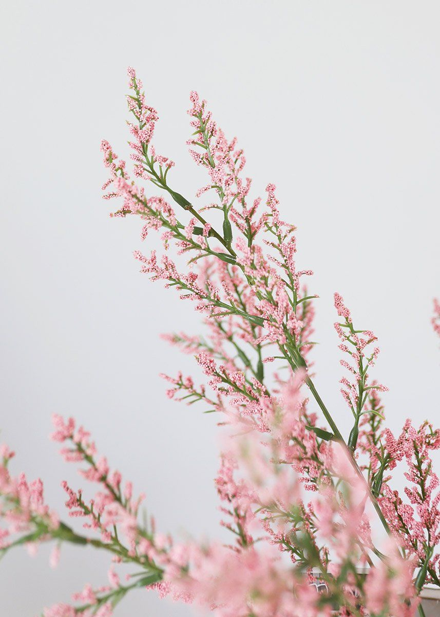 Artificial Astilbe Flower Bush In Pink In 2020 Astilbe Flower Dried Flower Bouquet Silk Flowers Wedding