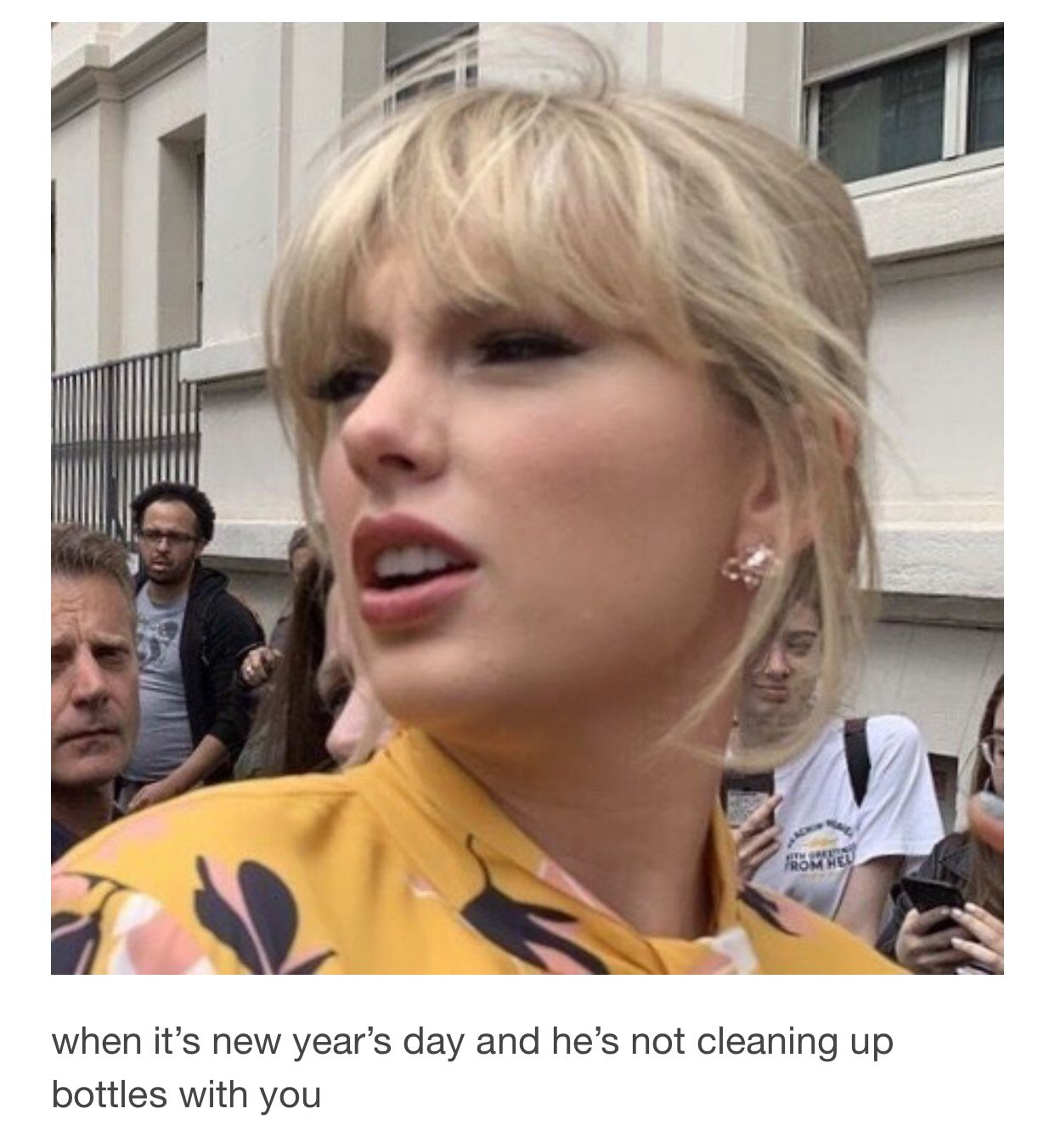 Taylor Alison Swift Meme New Year S Day Funny Lover