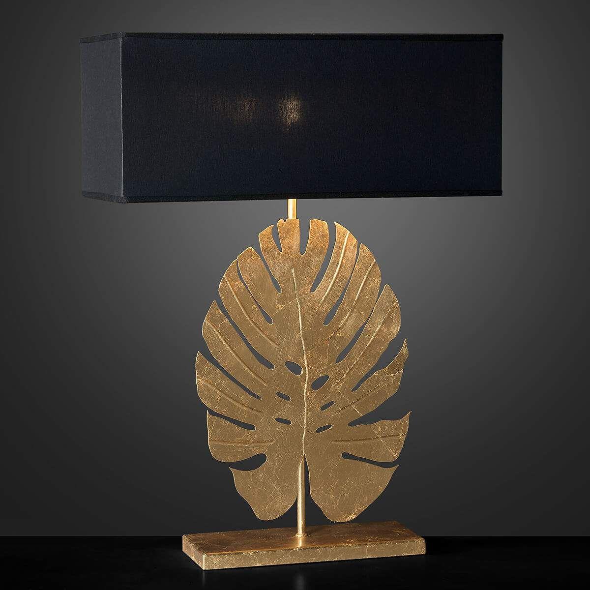Coole LED Wohnraumleuchten moderne Nachtischlampen Metall eckig mit Glaskugel