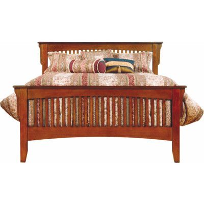 Mission Panel Bed Mission Style Oak Full Panel Bed 599 97 Bed