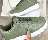 nike air force verde oliva