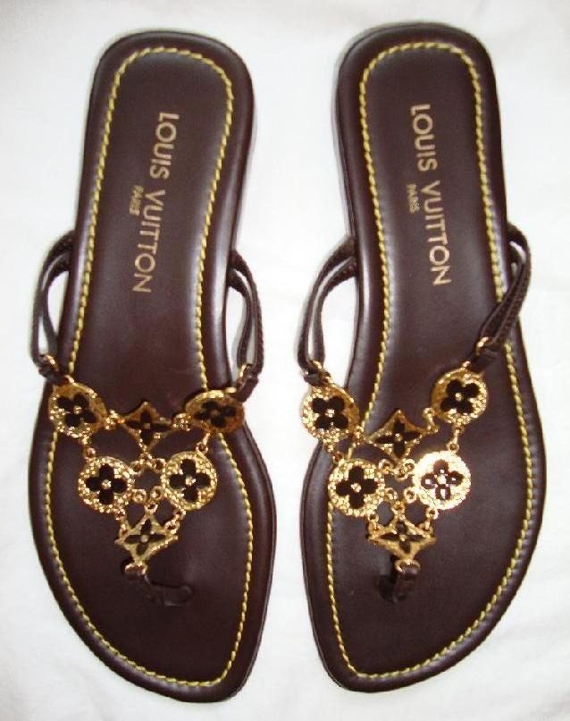 b85334682 Louis Vuitton Sandals...cannot even imagine the price, but lovely  nonetheless!