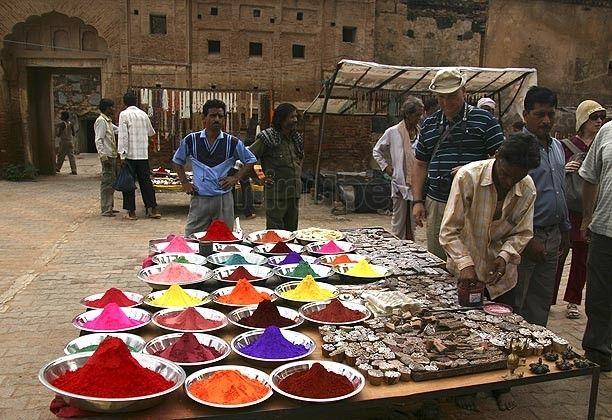 India - Mercado de Khajuraho