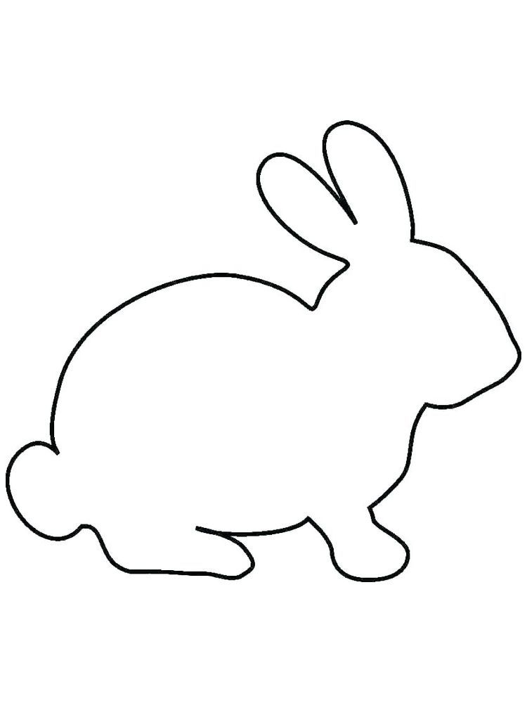 Free Printable Rabbit Coloring Pages For Kids Bunny Coloring Pages Bunny Drawing Rabbit Colors