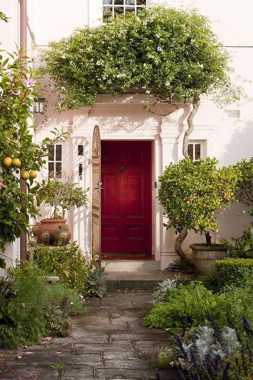 Pin di alberi99 su porte doors shabby home e front for Case bellissime esterni