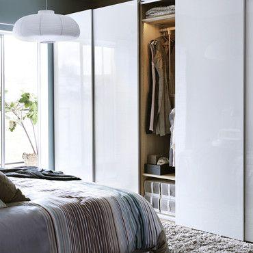 Dressing ikea le top des armoires pour organiser son - Fermer un dressing avec des rideaux ...