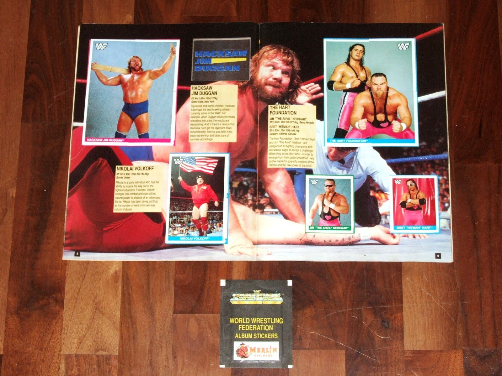 WWE icons 1 sticker album
