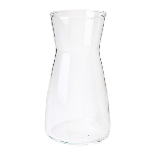 karaff carafe verre transparent design pur carafe et purer. Black Bedroom Furniture Sets. Home Design Ideas
