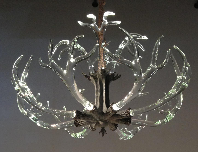 Fake deer antler chandelier chandeliers pinterest deer antler fake deer antler chandelier aloadofball Image collections