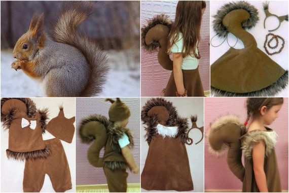 Photo of Squirrel boy costume / Kids squirrel Costume / squirrel dress and …